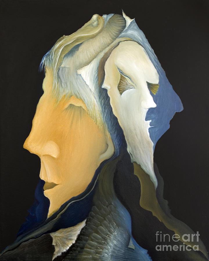 Sensual Painting - Facets by Joanna Pregon