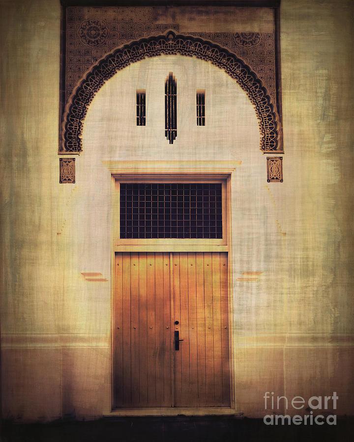 Door Photograph - Faded Doorway by Perry Webster