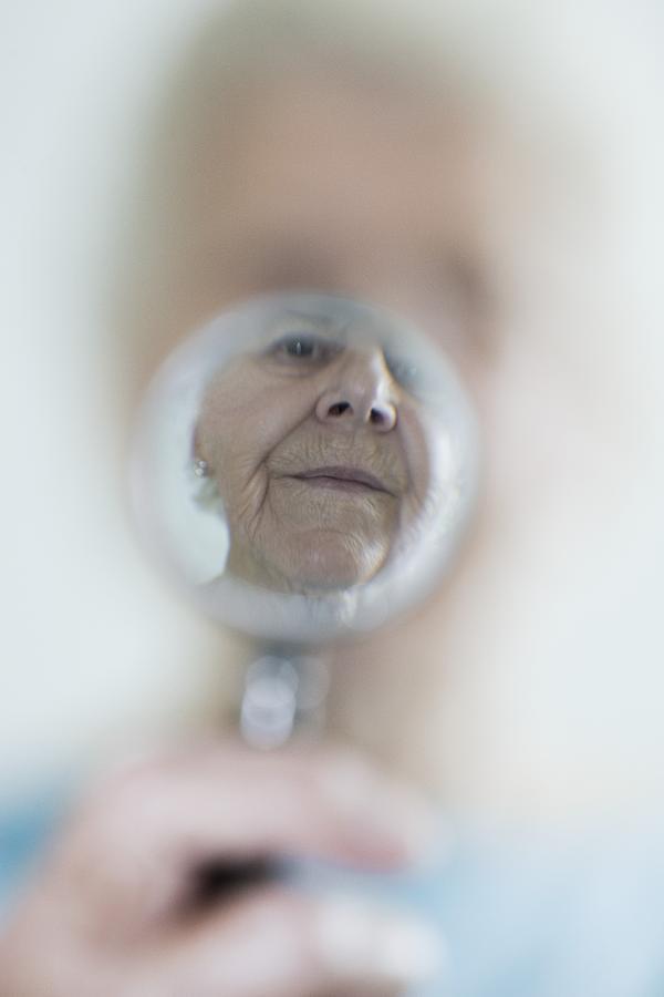 Aging Photograph - Failing Eyesight, Conceptual Image by Cristina Pedrazzini