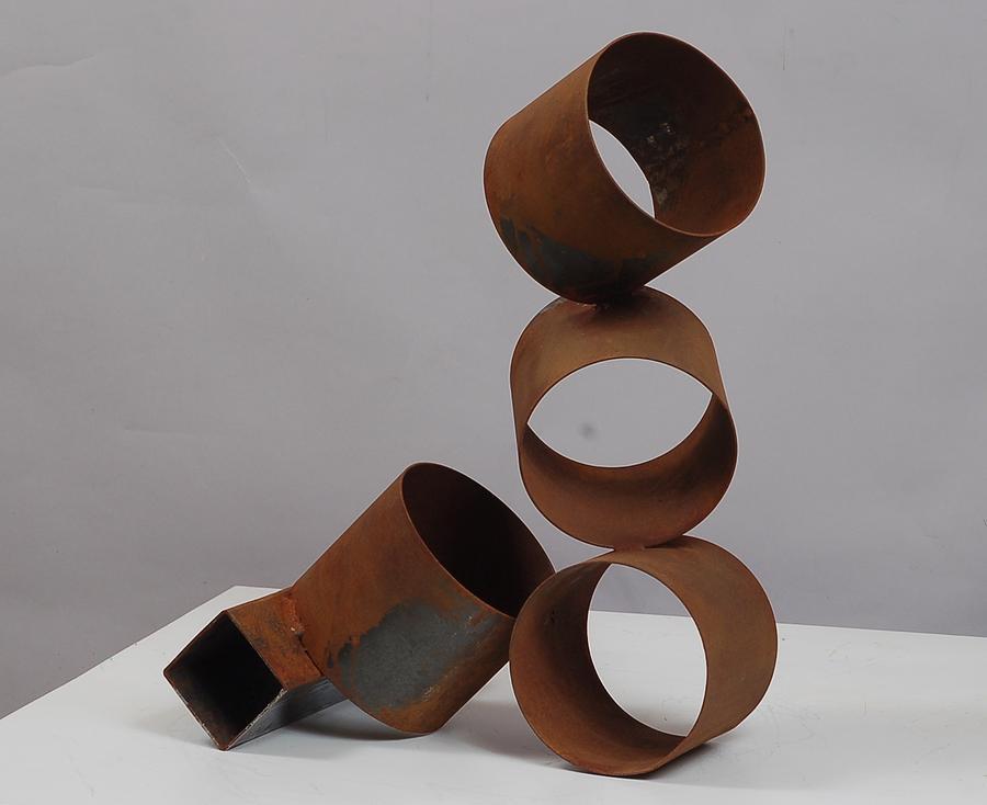 Welded Sculpture - Faint Rhythm by Mac Worthington