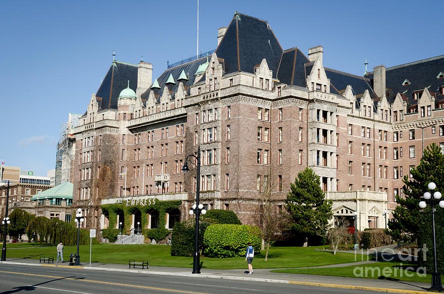 Fairmont Empress Hotel Victoria Bc Canada Photograph By Andy Smy