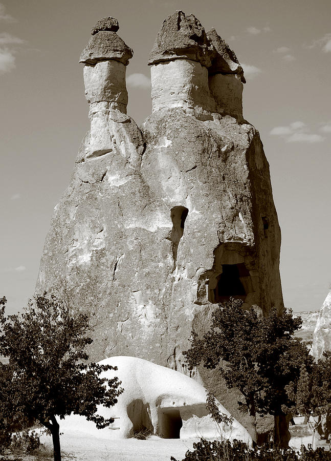 Goreme Photograph - Fairy Chimney In Goreme by RicardMN Photography