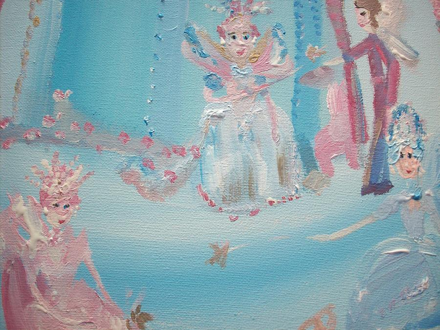 Fairy Painting - Fairy Godmother Convention by Judith Desrosiers