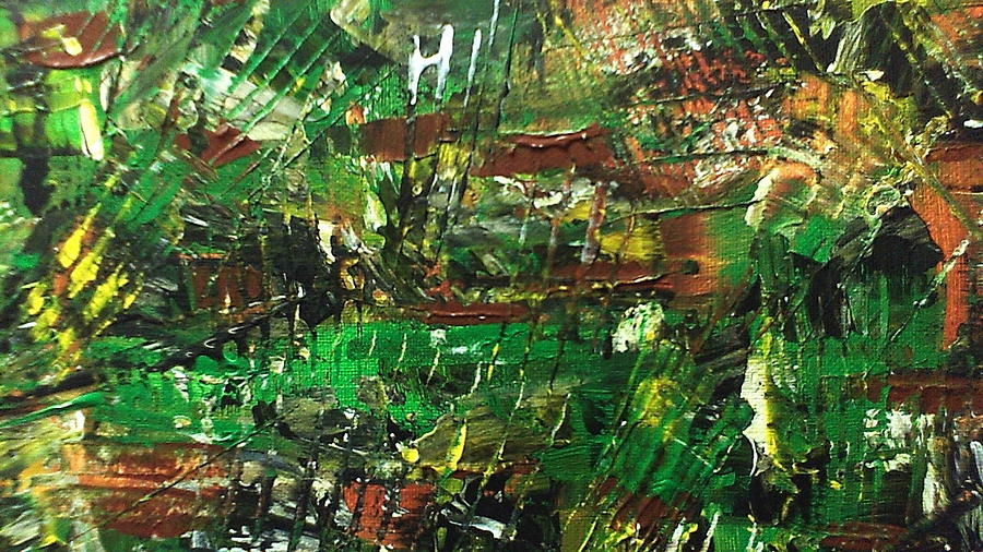 Abstract Painting Painting - Fall 3 by Lisa Williams