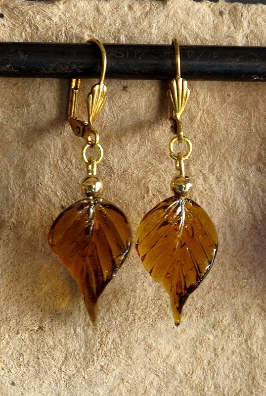 Jewelry Jewelry - Fall Leaves by Jan Brieger-Scranton