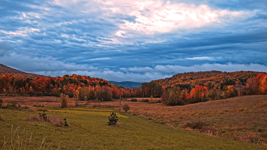 Fall Photograph - Fall Scenery In The Canadian Countryside by Chantal PhotoPix