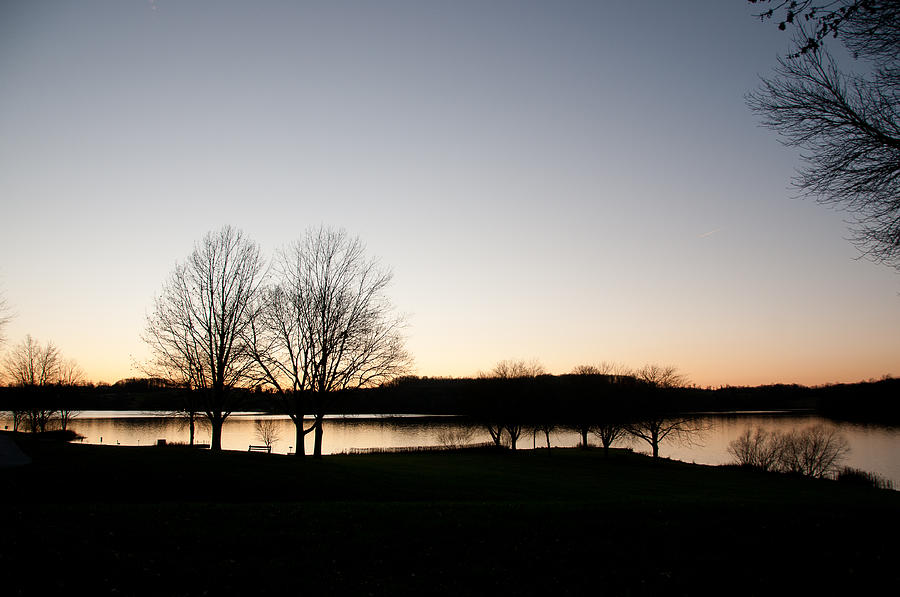 Fall Photograph - Fall Sunset by Herman Boodoo