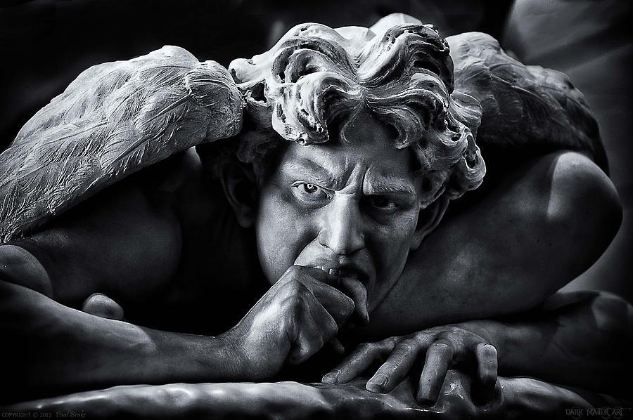 Angel Photograph - Fallen Angel by Paul Brake