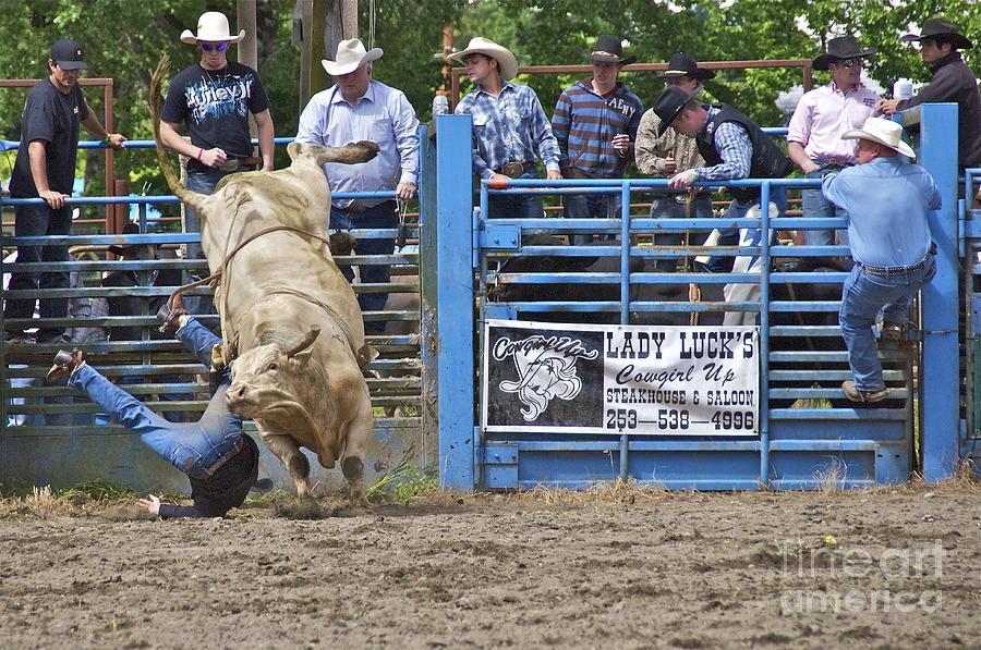 Photography Photograph - Fallen Cowboy by Sean Griffin