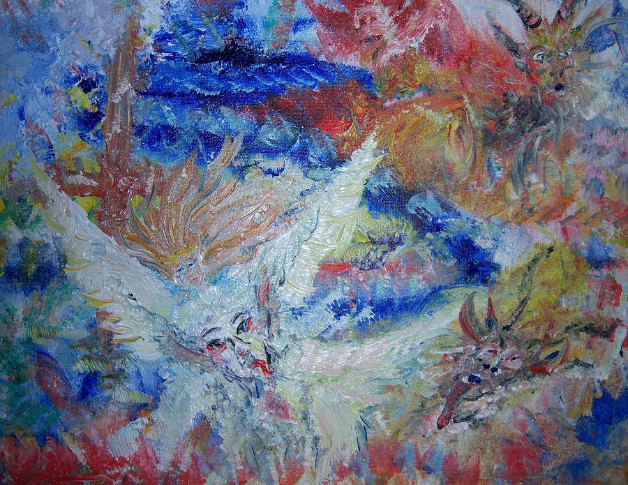 Falling From Grace Painting by Fawn Whelahan