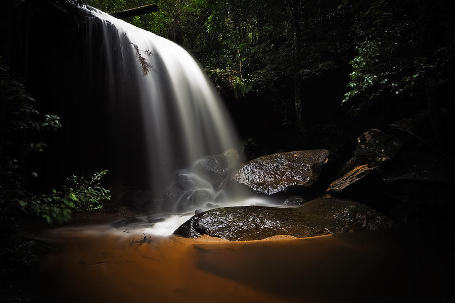 Long Exposure Photograph - Falling Light by Mark Lucey