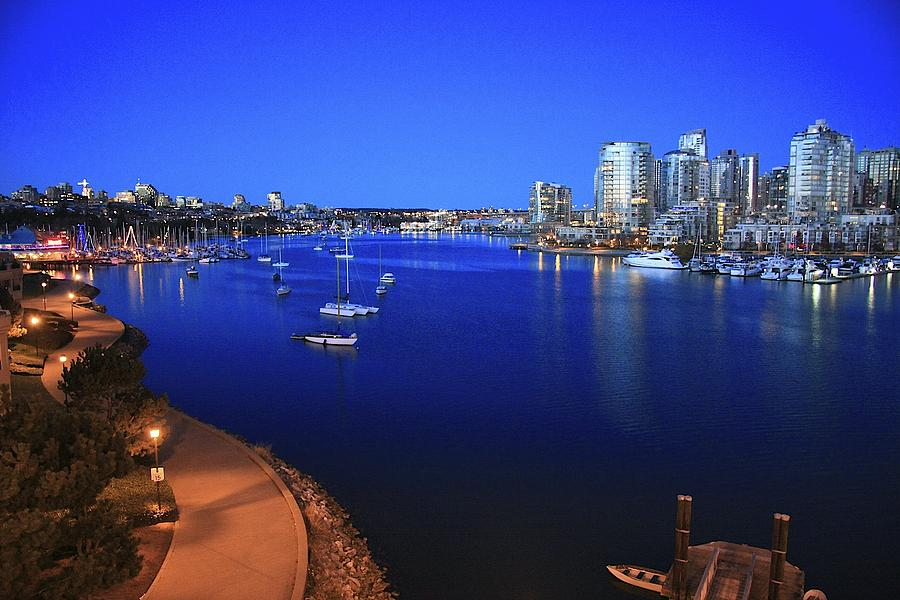 Vancouver Bc Canada Photograph - False Creek by Scott Holmes