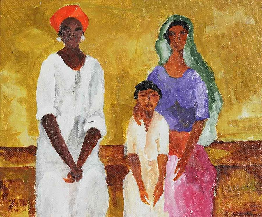 Family Painting by Deepak Patil