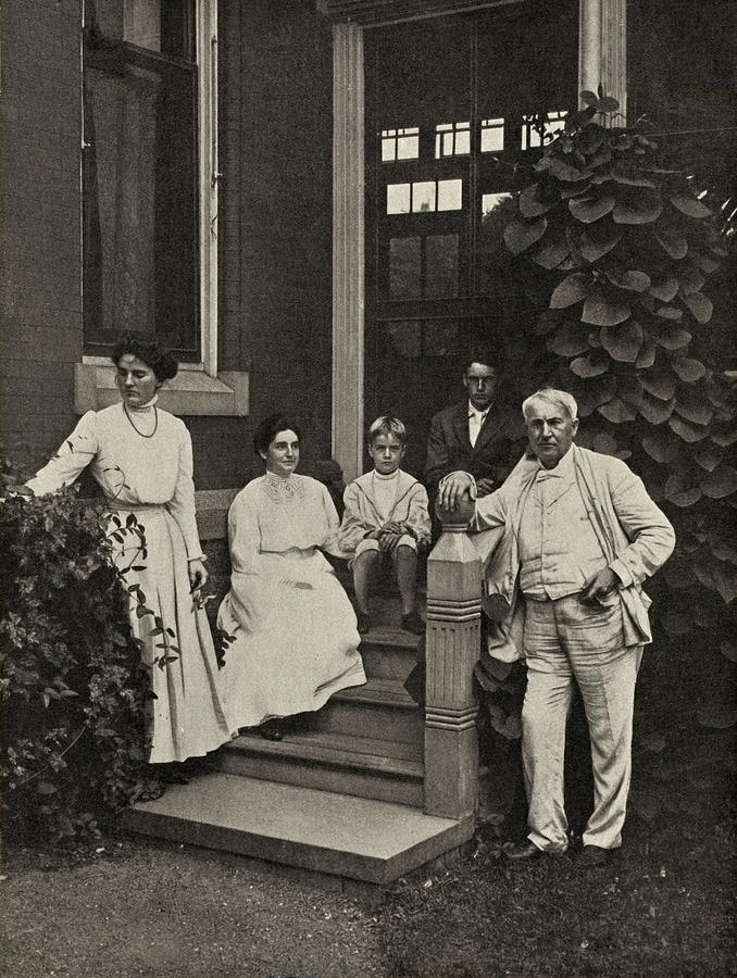 Family Of Thomas Edison, Us Inventor by Humanities & Social Sciences  Librarynew York Public Library