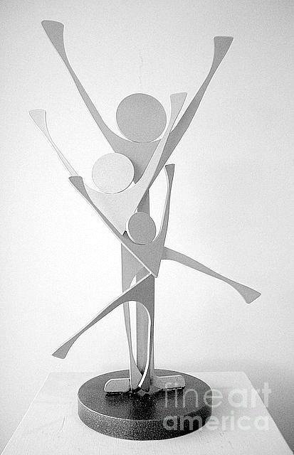 Family Unit Sculpture by Lisa Dionne