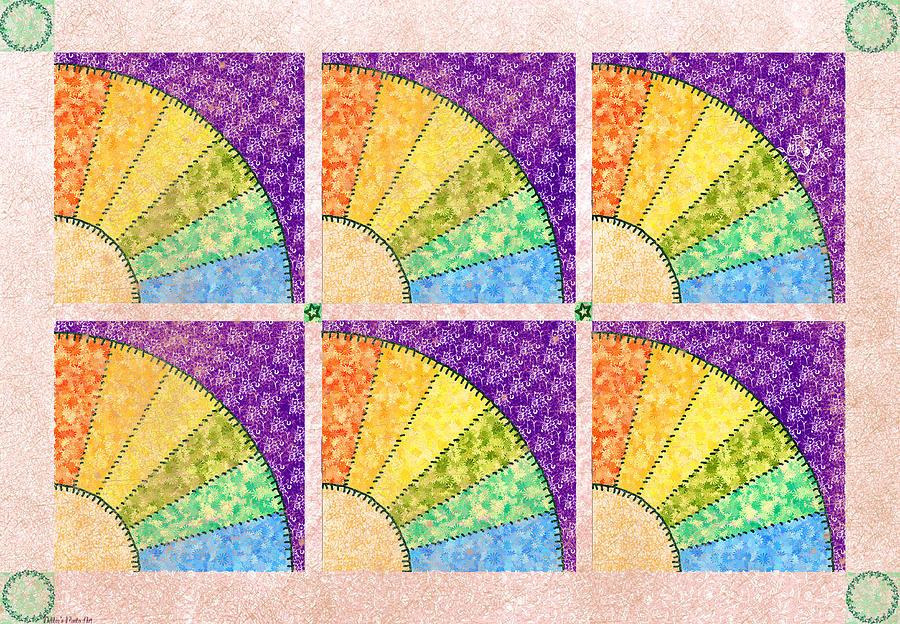 Fan Quilt Quilt Pattern Photograph By Debbie Portwood
