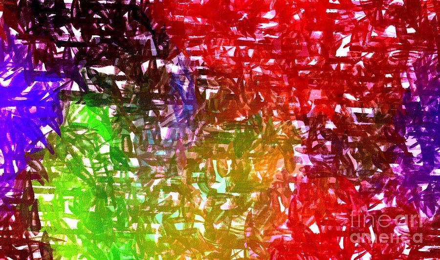 Abstract Digital Art - Fan1 by Ricardo G Silveira