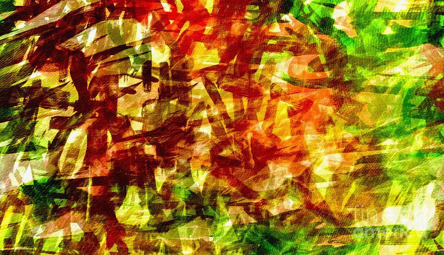 Abstract Digital Art - Fan12 by Ricardo G Silveira