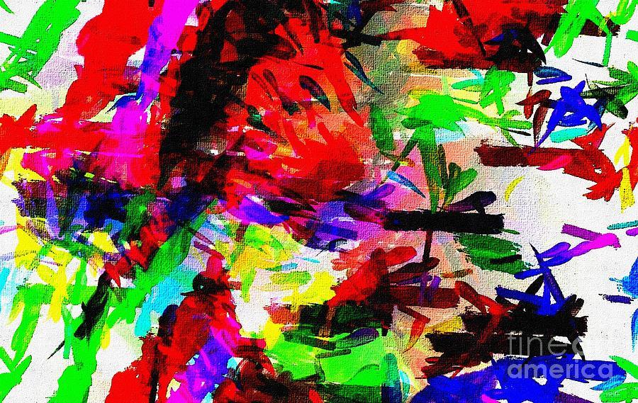 Abstract Digital Art - Fan14 by Ricardo G Silveira