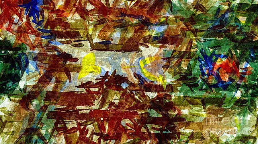 Abstract Digital Art - Fan17 by Ricardo G Silveira