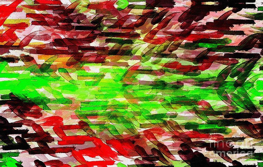 Abstract Digital Art - Fan18 by Ricardo G Silveira