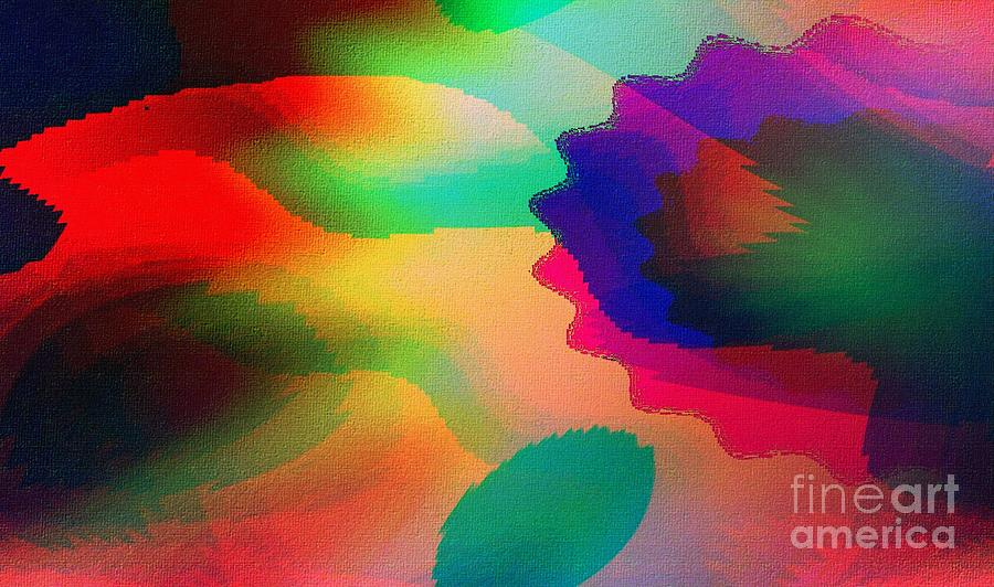 Abstract Digital Art - Fan20 by Ricardo G Silveira