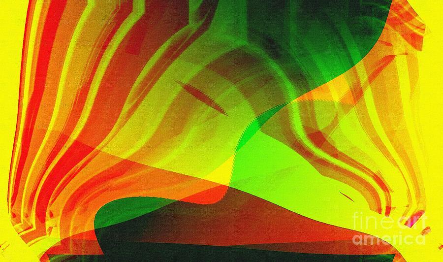 Abstract Digital Art - Fan4 by Ricardo G Silveira