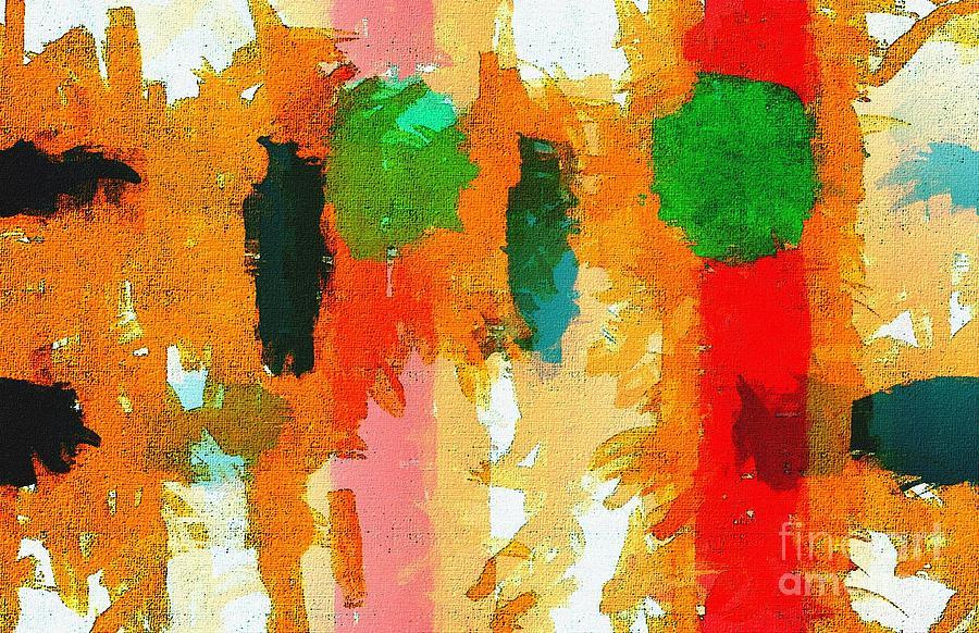 Abstract Digital Art - Fan7 by Ricardo G Silveira