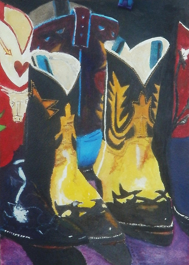 Fancy Boots by Brent  Harris