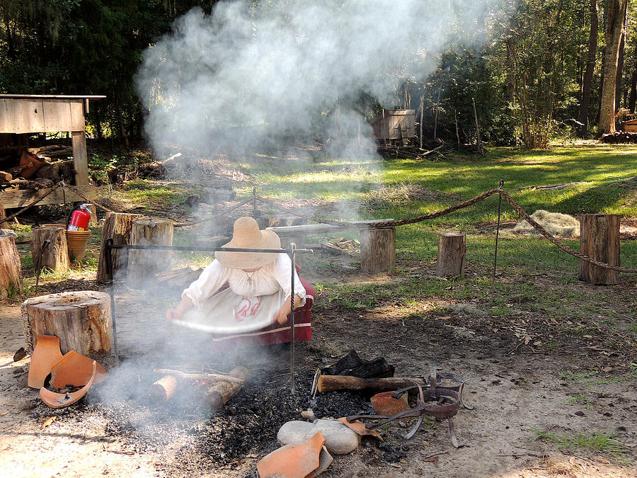 Cooking Photograph - Fanning The Flames by Marilyn Holkham