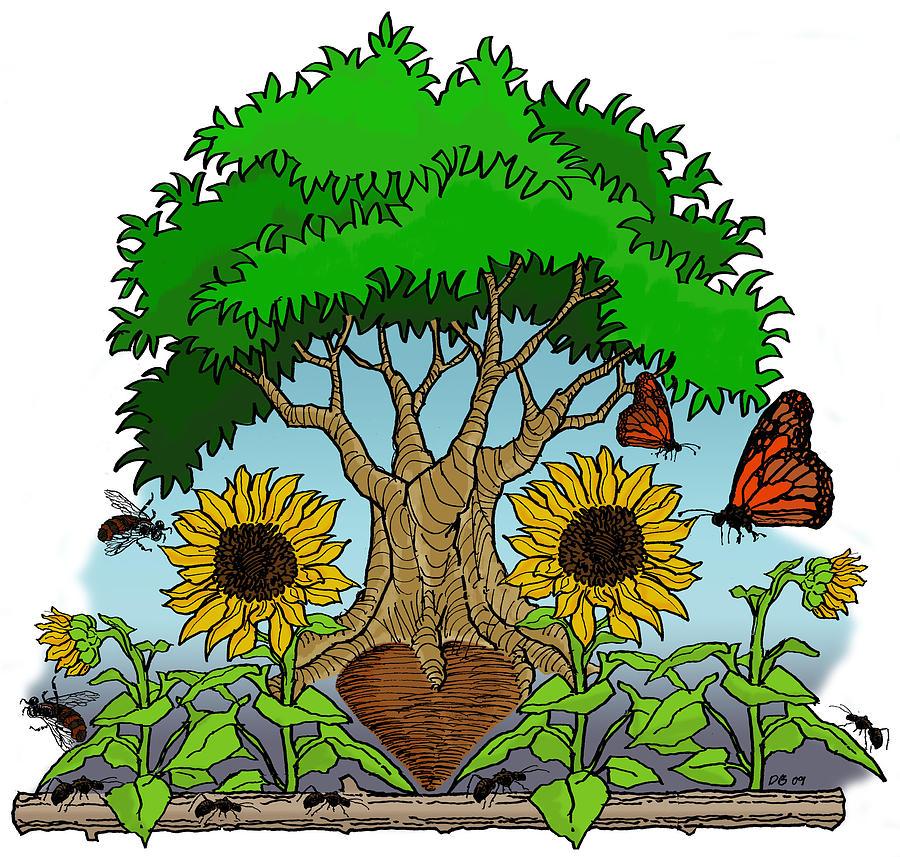 Fantasy tree by David Burkart
