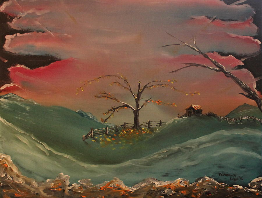 Oil Painting - Far Far Away  by Shadrach Ensor