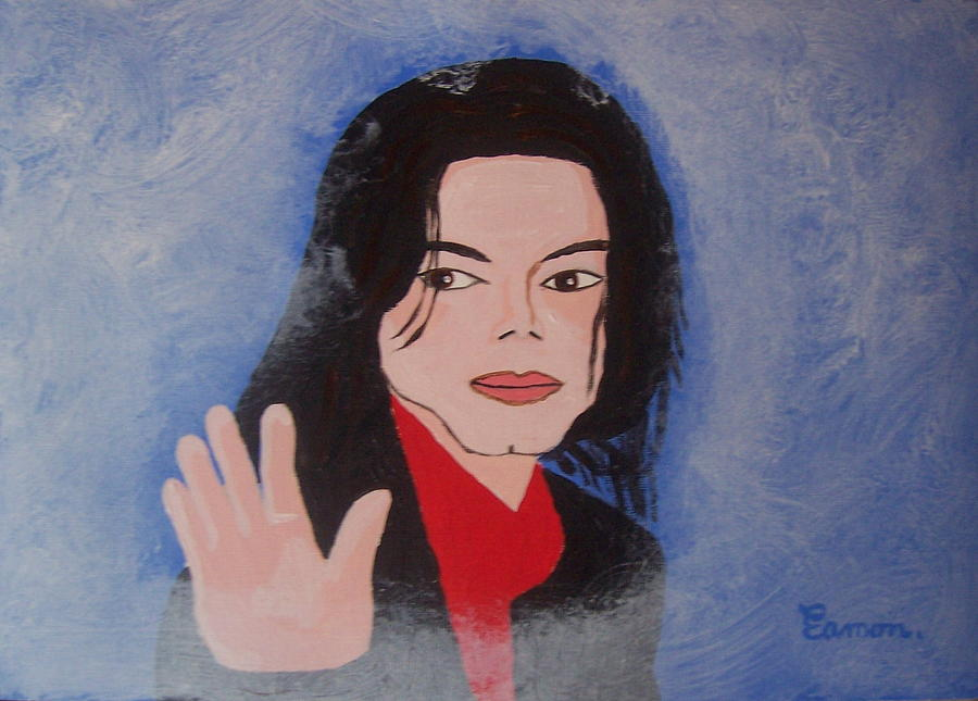 Michael Jackson Painting - Farewell My Fans by Eamon Reilly