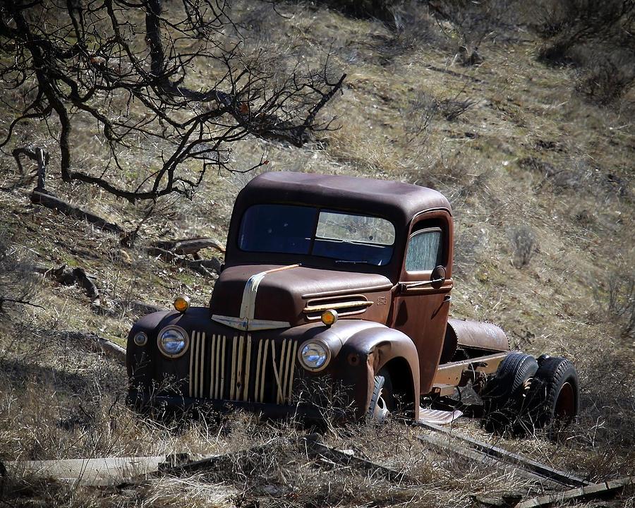 Ford Truck Photograph - Farm Fresh Ford by Steve McKinzie