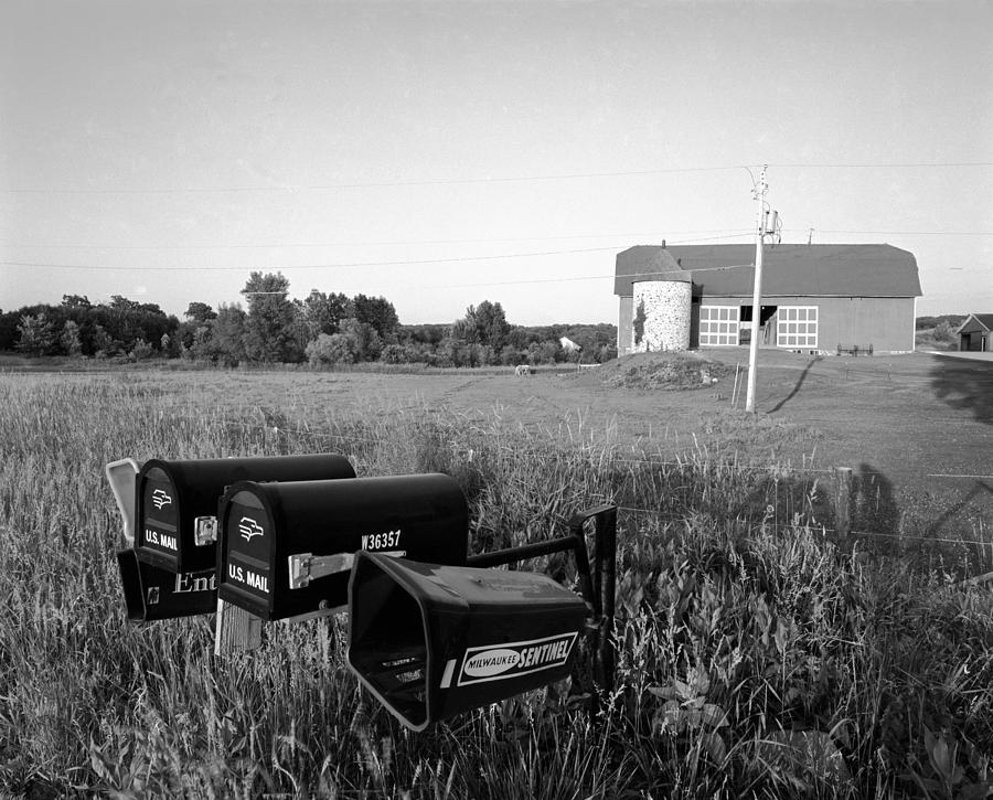 Wisconsin Photograph - Farm On Hiway C by Jan W Faul