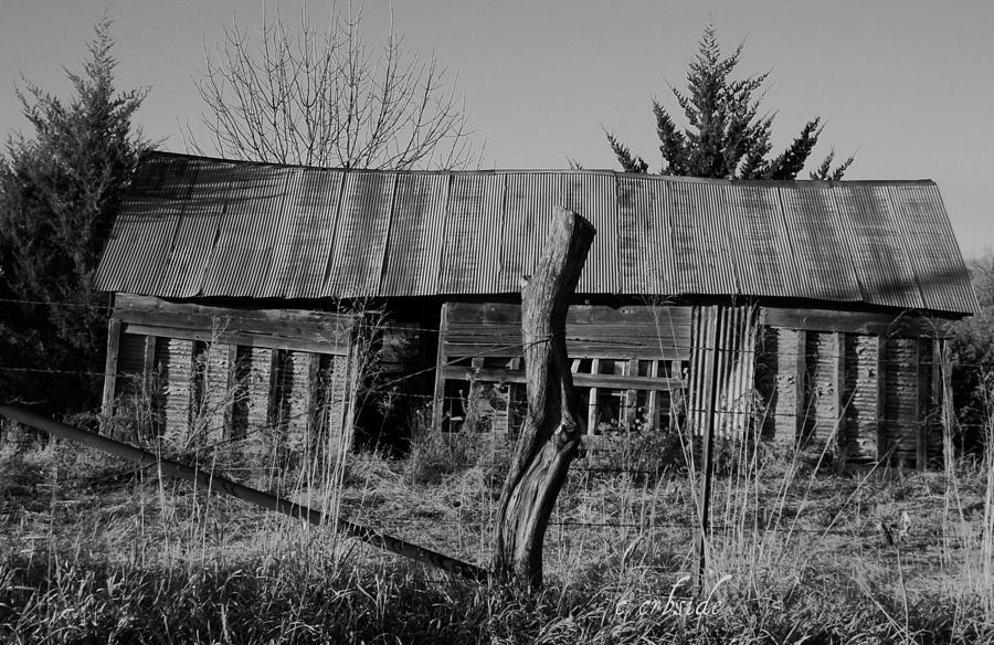 Farm Photograph - Farmers Building by Chris Berry