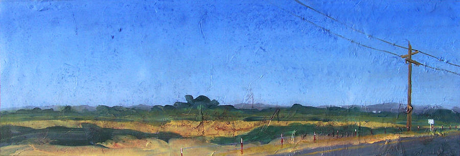 Painting Painting - Farmscape 1 by Dayton Claudio