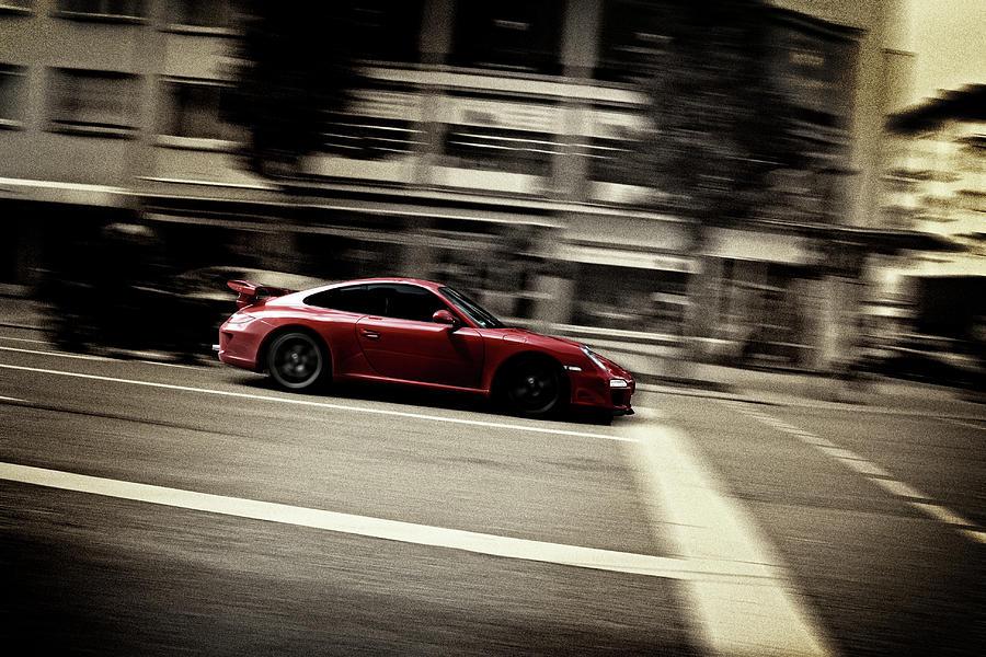 Car Photograph - Fast by Gabriel Calahorra