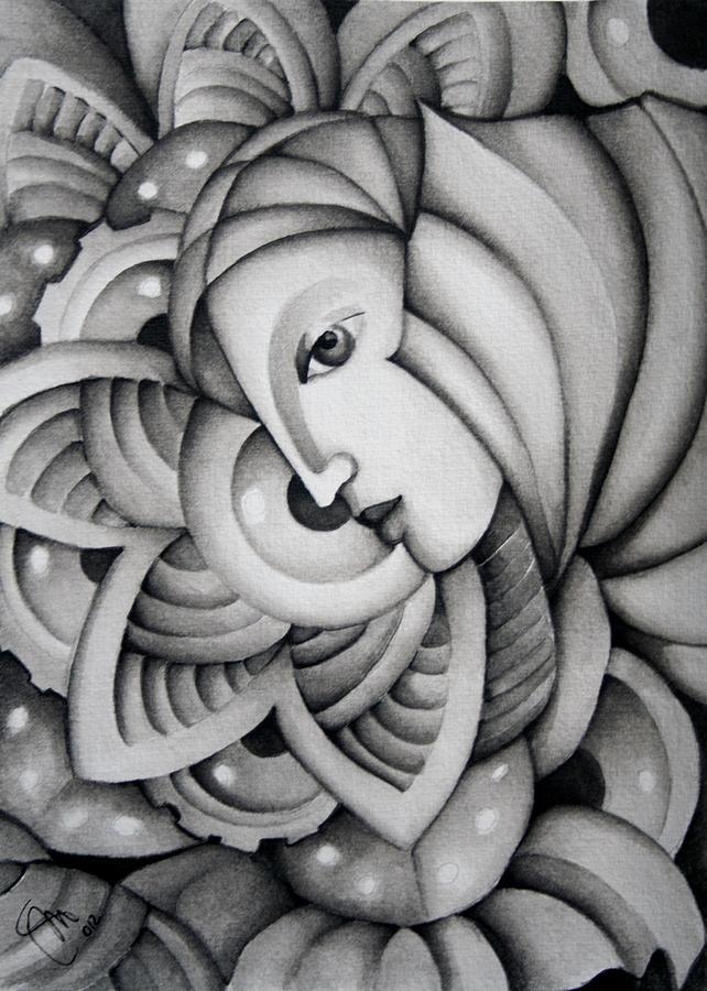 Morgana Painting - Fata Morgana by Simona  Mereu