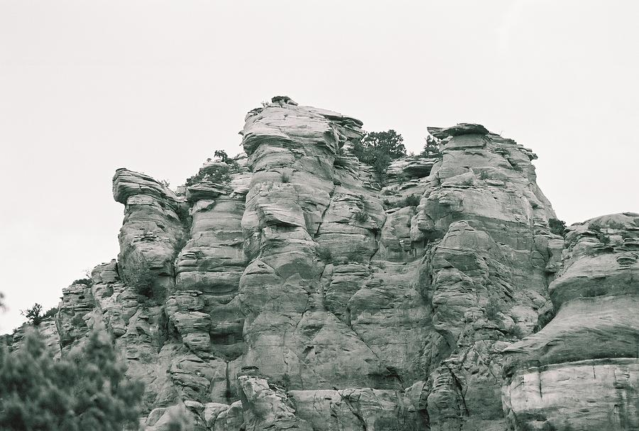 Red Rock Photograph - Father by