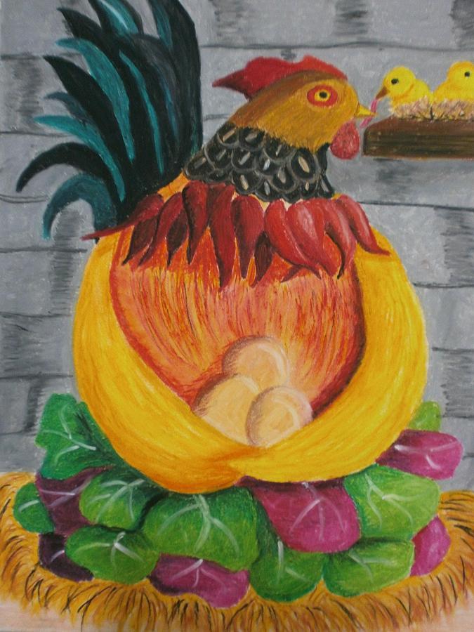 Painting Painting - Fatherly Veru by Adam Wai Hou