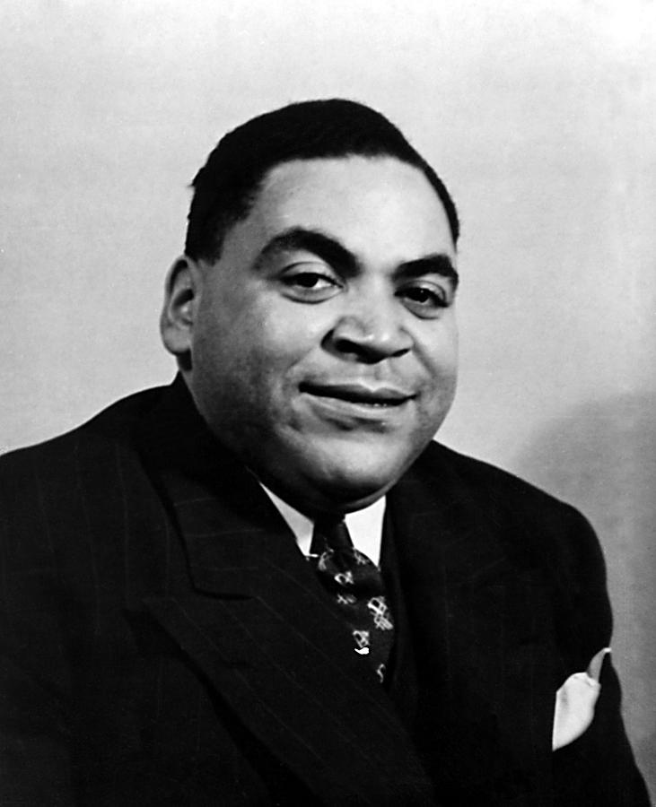 Fats Waller, Real Name Thomas, Ca. 1930s Photograph by EverettFats Waller