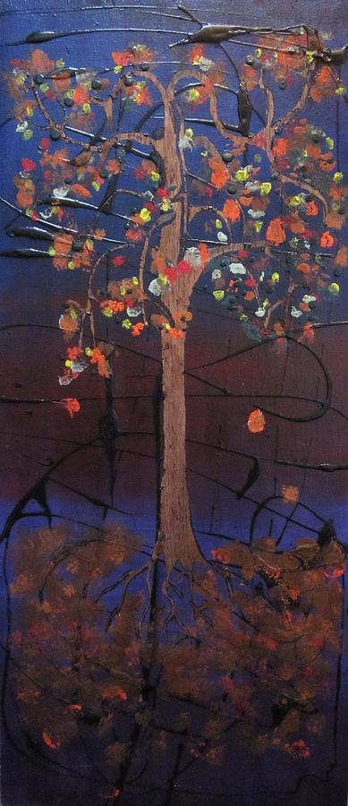 Fall Painting - Fautumn  by David Sutter