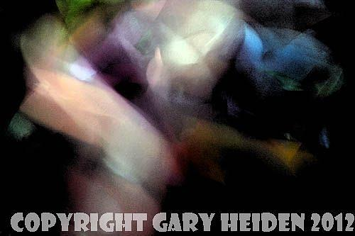 Abstract Painting - Fear Of The Dark   by Gary Heiden
