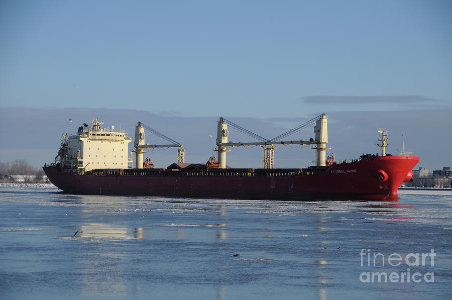 Ship Photograph - Federal Phine by Ronald Grogan