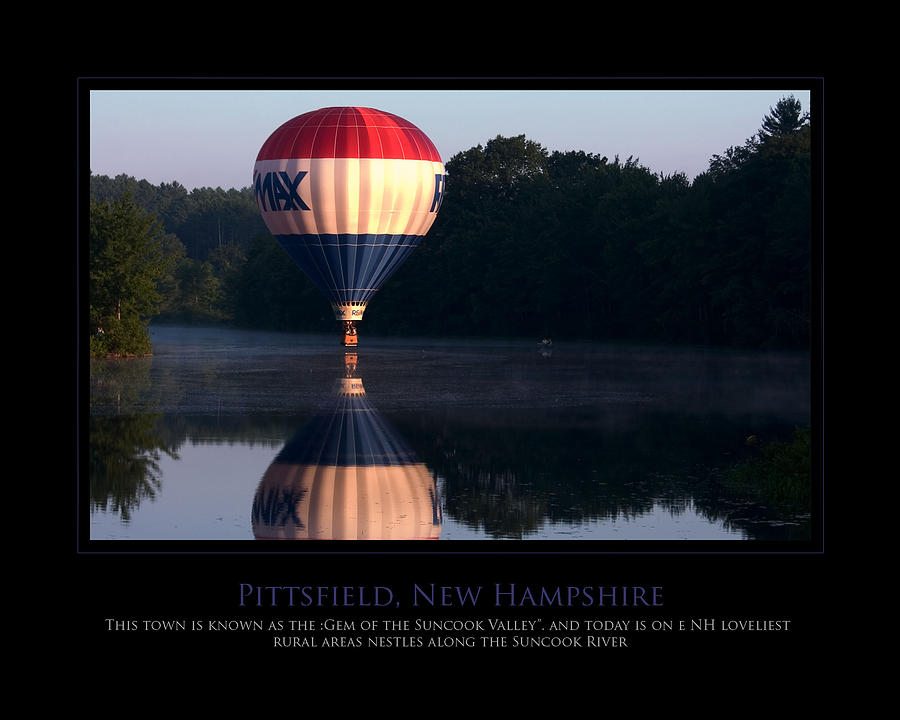 Hot Air Balloon Photograph - Feel Like Floating by Jim McDonald Photography