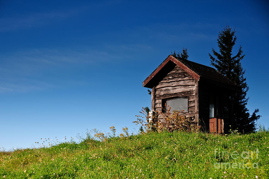 Shack Photograph - Feel The Breeze by Lois Bryan