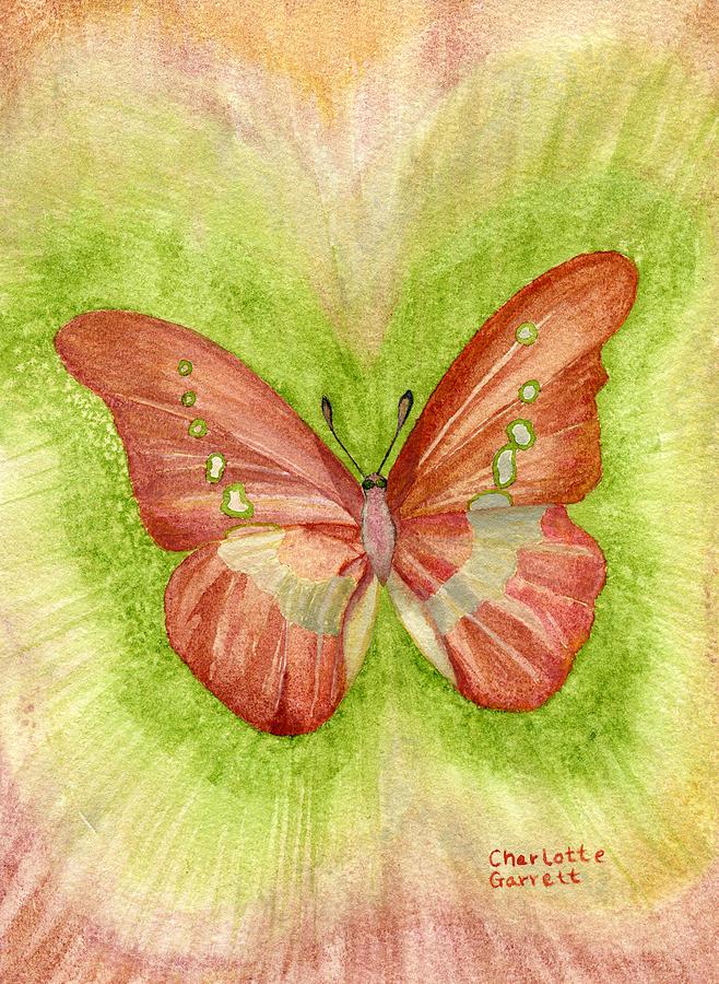 Feelings Butterfly by Charlotte Garrett