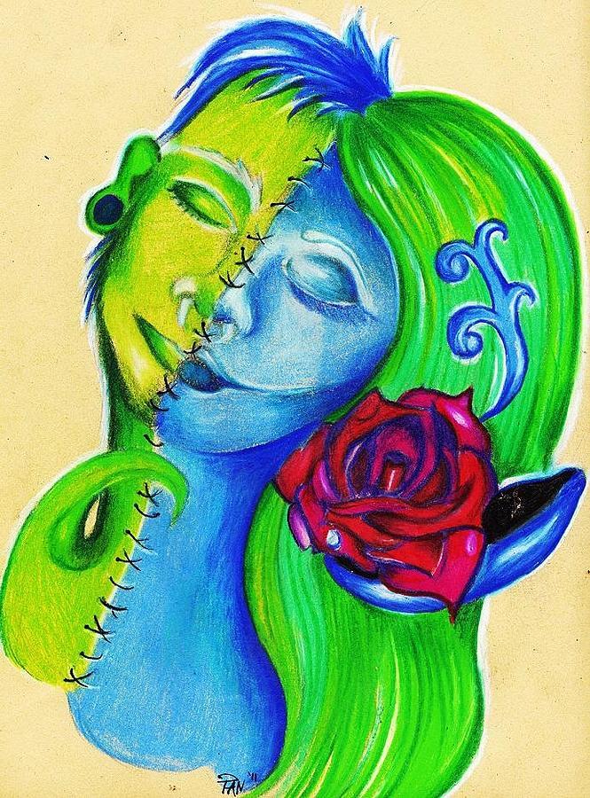 Love Drawing - Feels Like Were The Same by Cristin Chambers