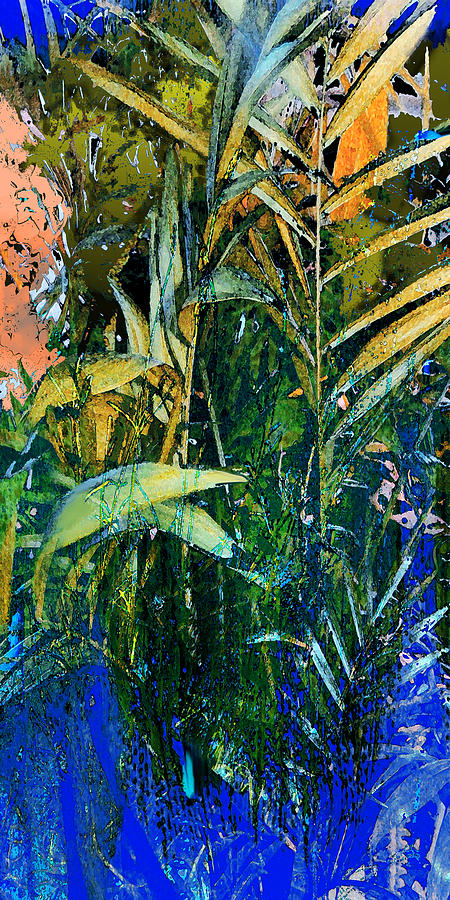 Reed Painting - Feet In The Water by Anne Weirich